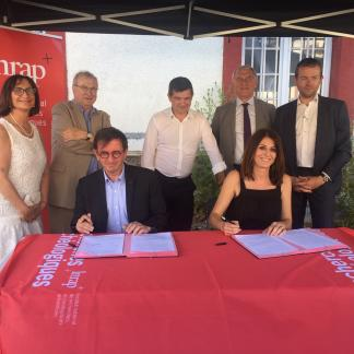 Nouveau centre de recherche de l'Inrap à Châlons-en-Champagne