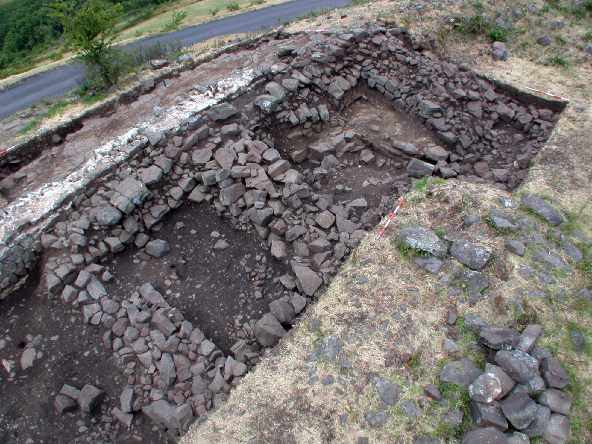 Actualité | Les fortifications de l'oppidum de Gergovie