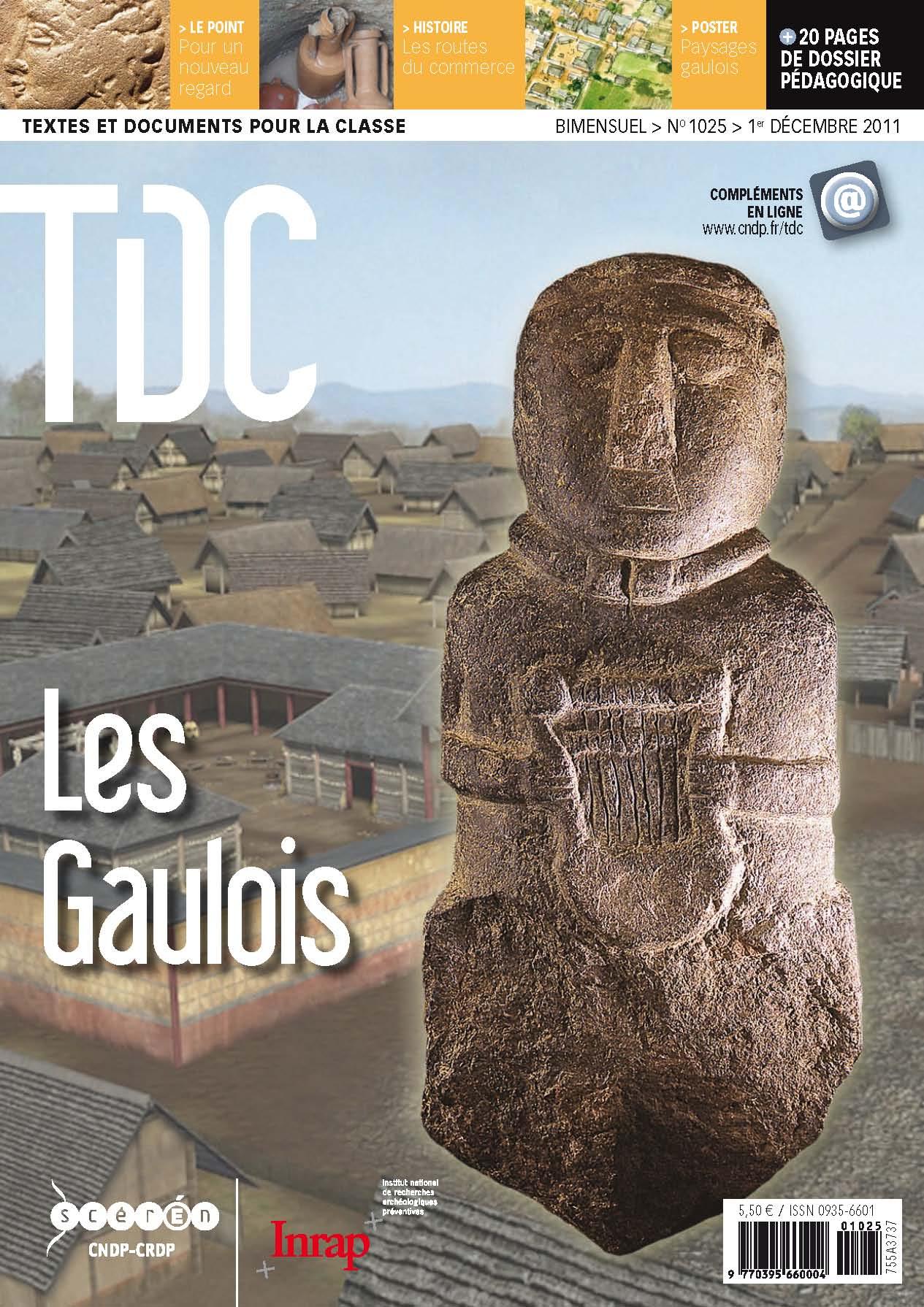Textes et documents pour la classe n°1025 consacré aux Gaulois