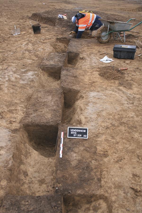 Des occupations néolithiques, protohistoriques et un « camp de marche » romain à Vendenheim (Bas-Rhin)