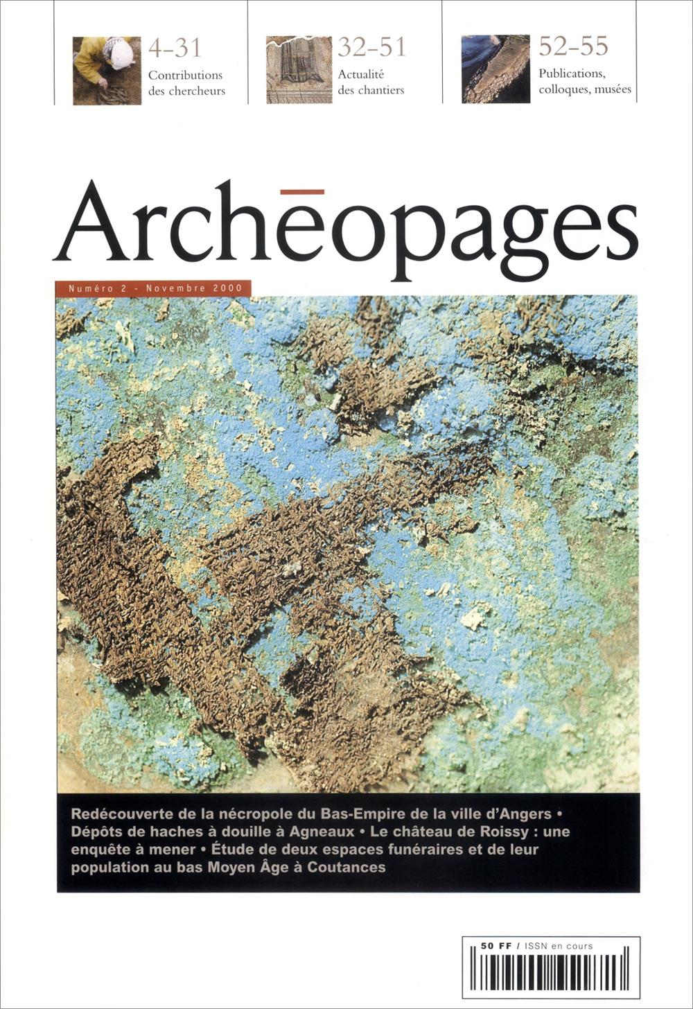 Couverture Archéopages 02