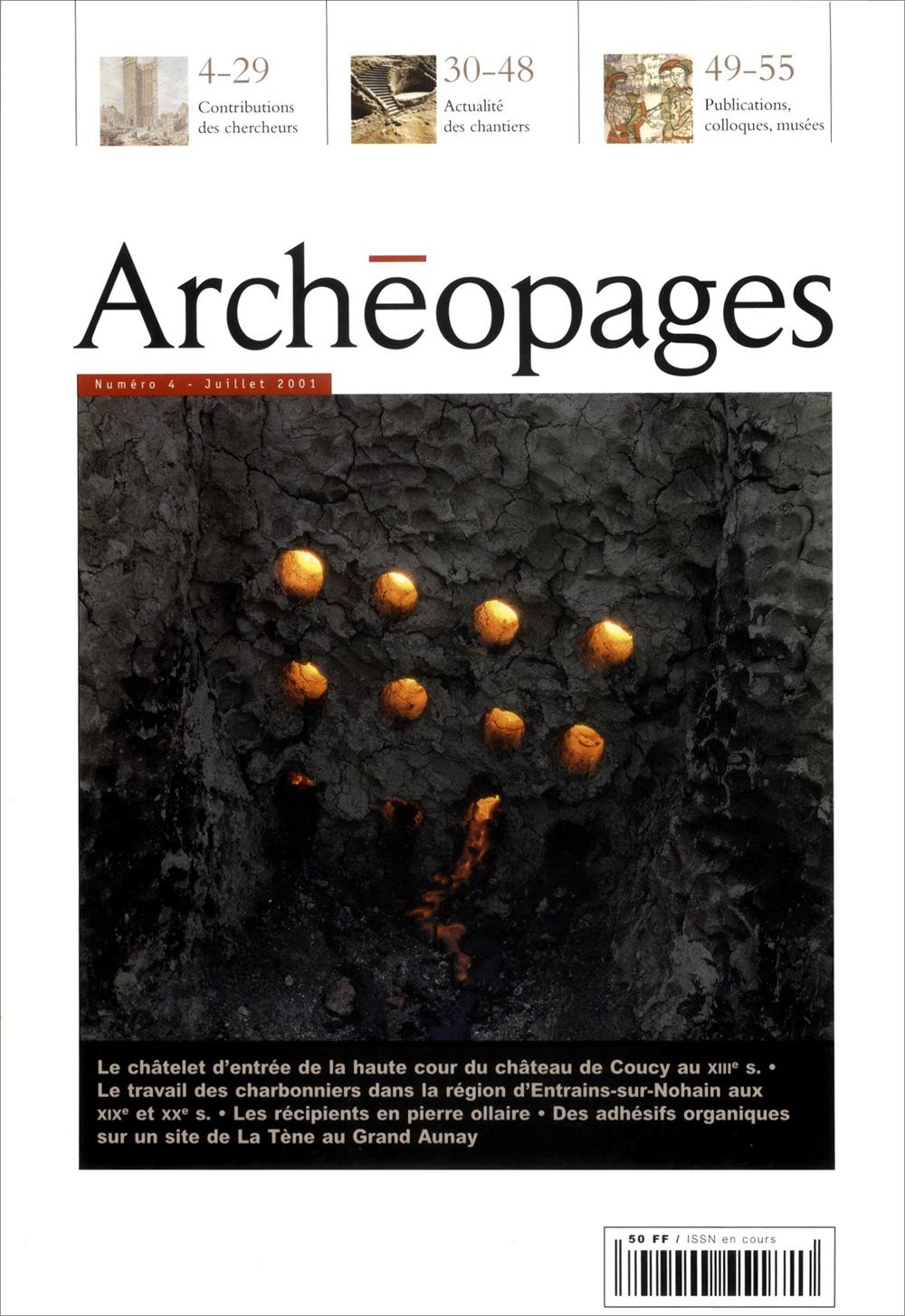 Couverture Archéopages 04