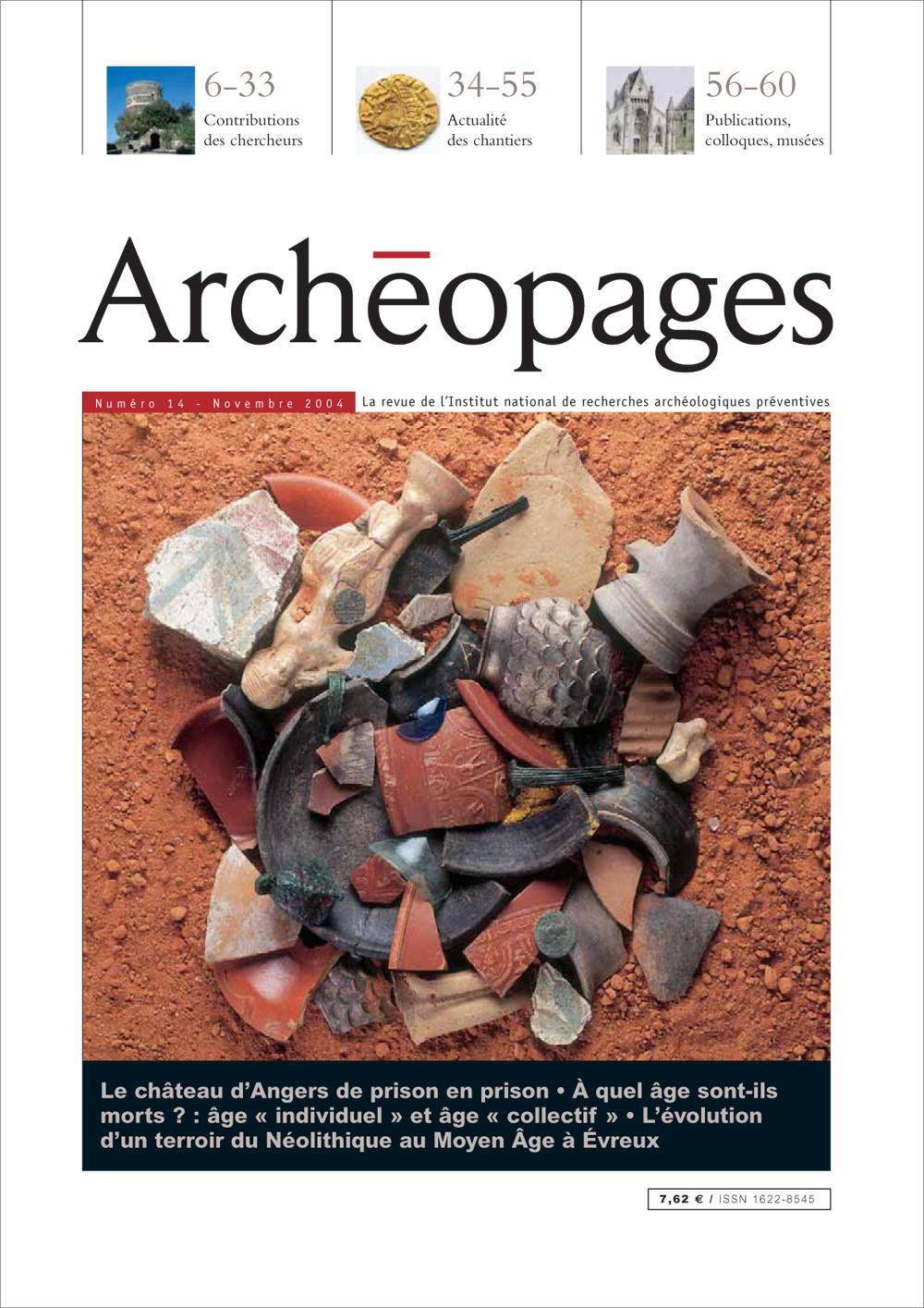 Couverture Archéopages 14