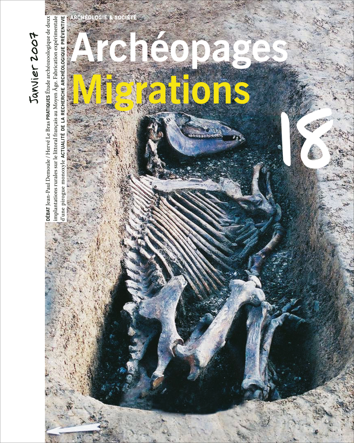 Archéopages n°18 : Migrations