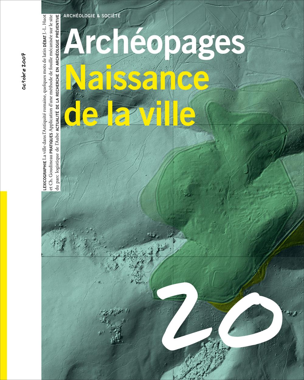 Archéopages n°20 : Naissance de la ville