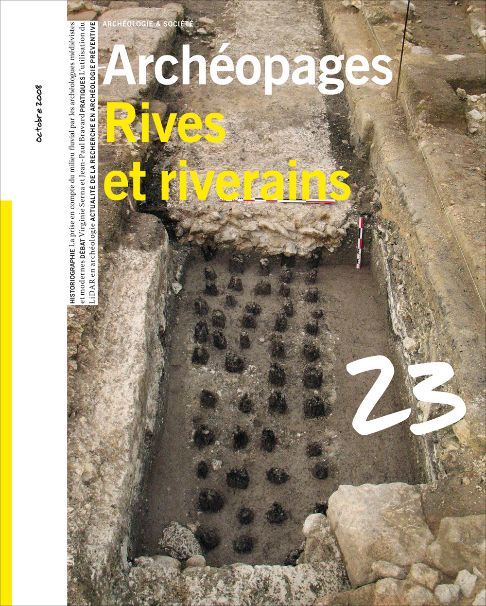 Archéopages n°23 : Rives et riverains