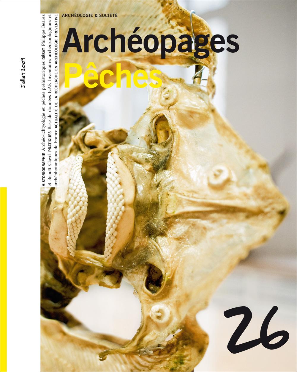 Archéopages n°26 : Pêches