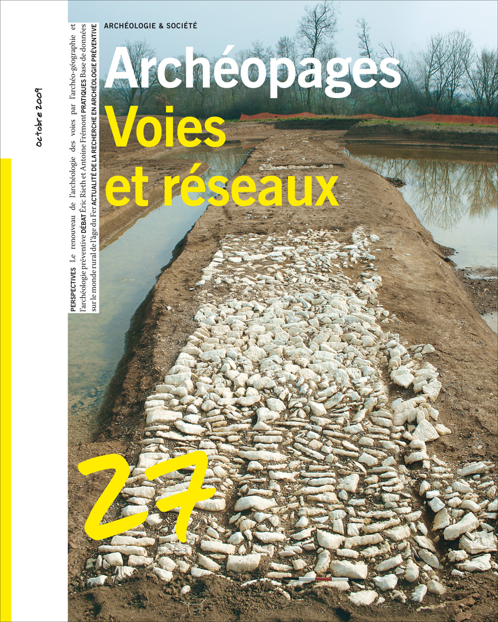 Archéopages n°27 : Voies et réseaux