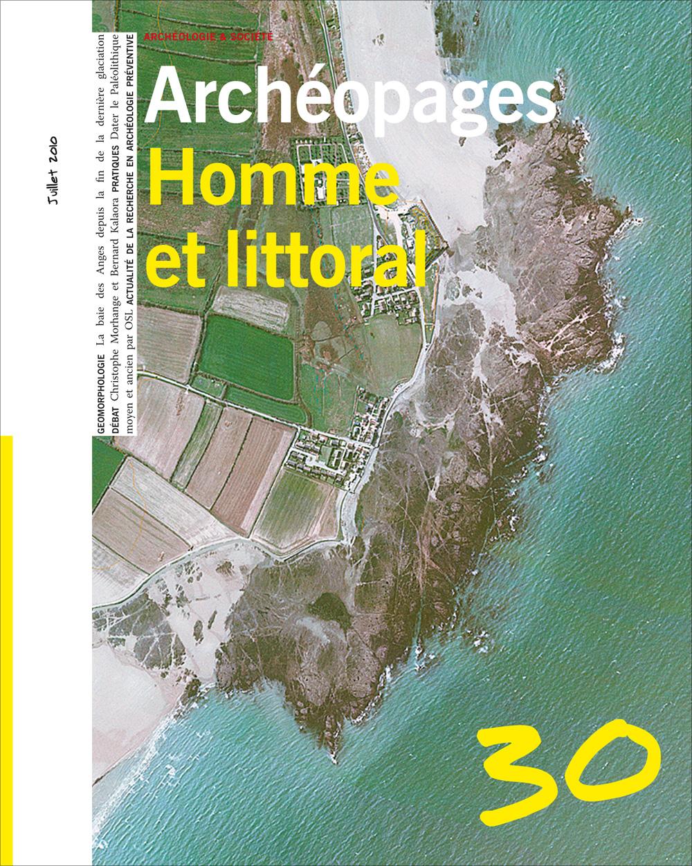 Archéopages n°30 : Homme et littoral