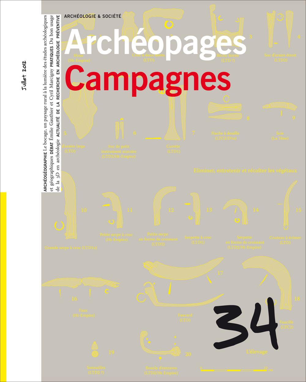 Archéopages 34 : Campagnes