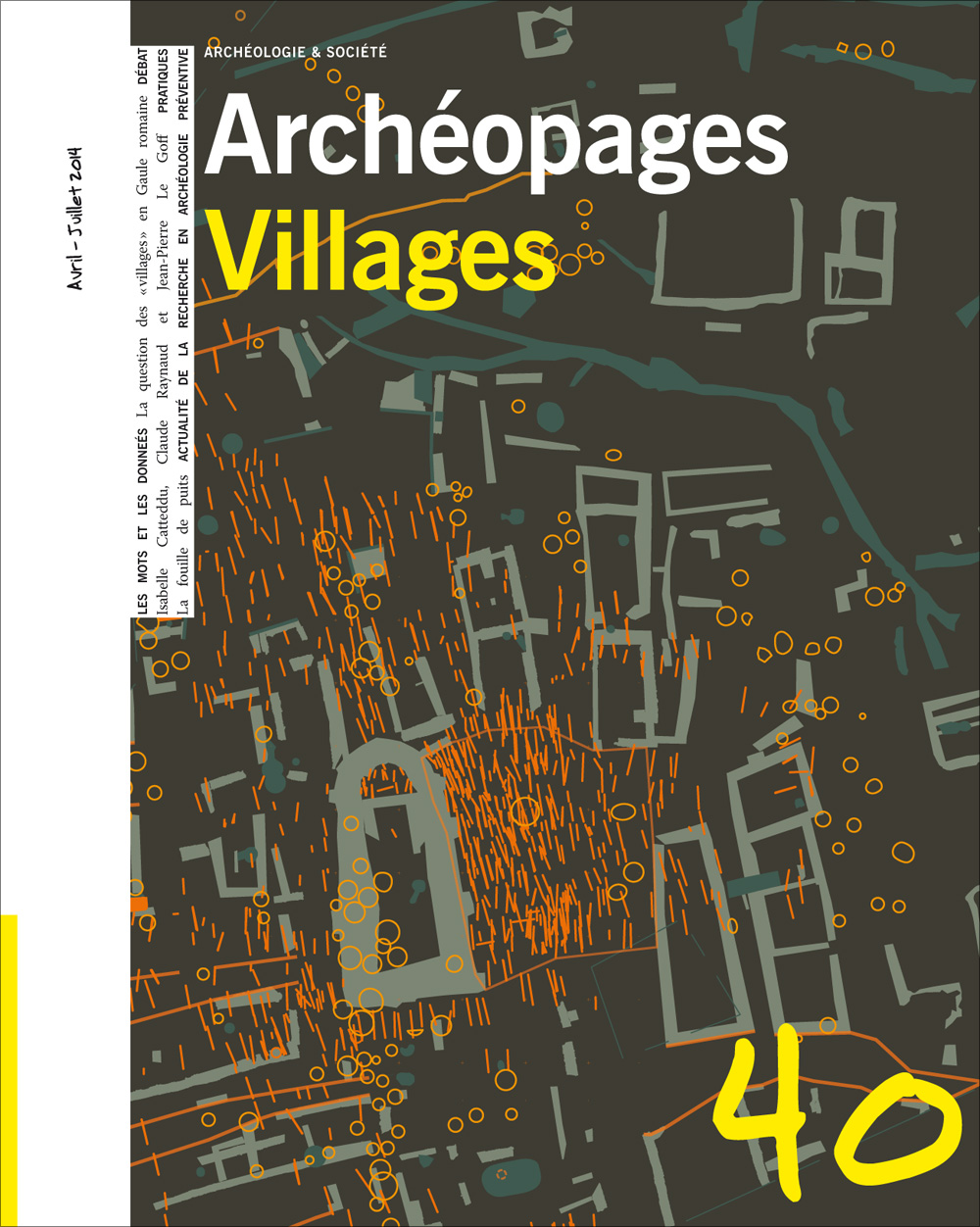 Archéopages n° 40 : <i>Villages</i>