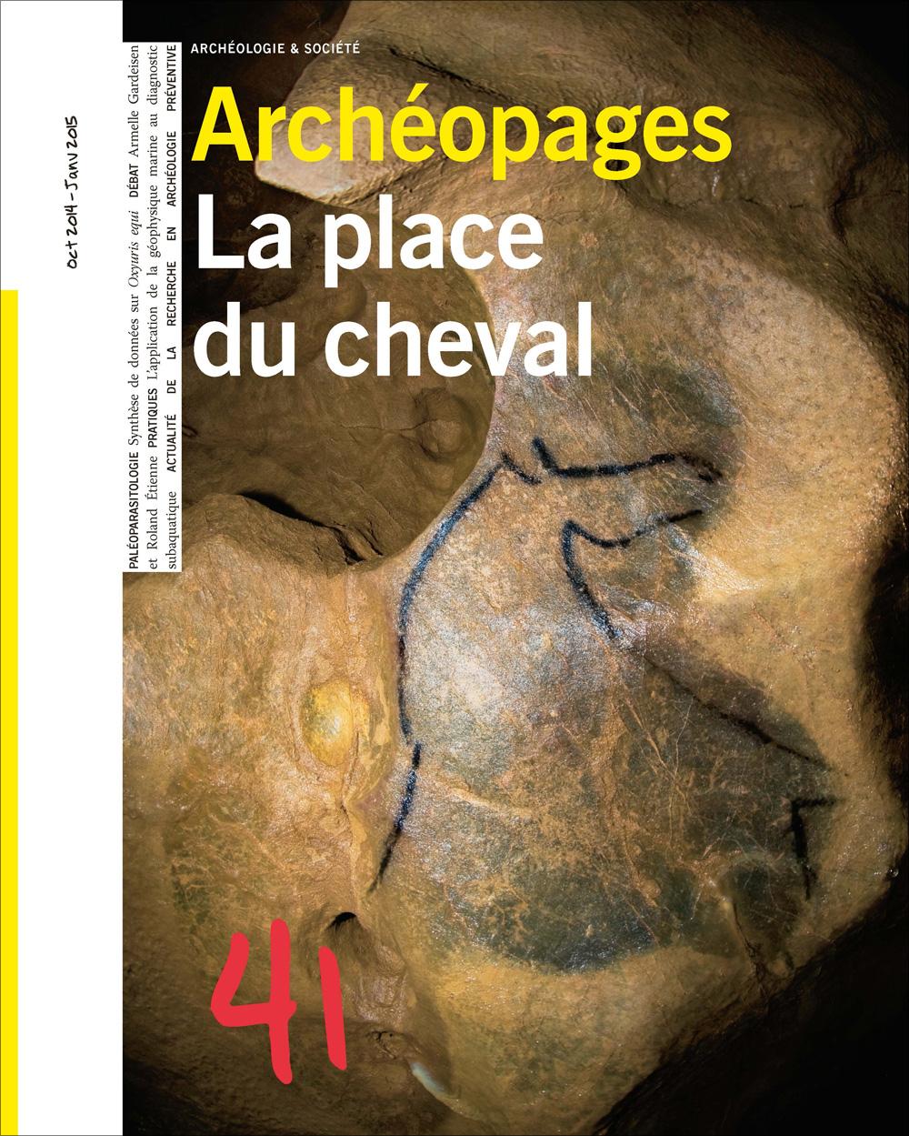 Archéopages n° 41 : La place du cheval