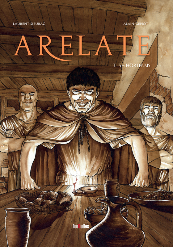 Couverture bande dessinée Arelate tome 5