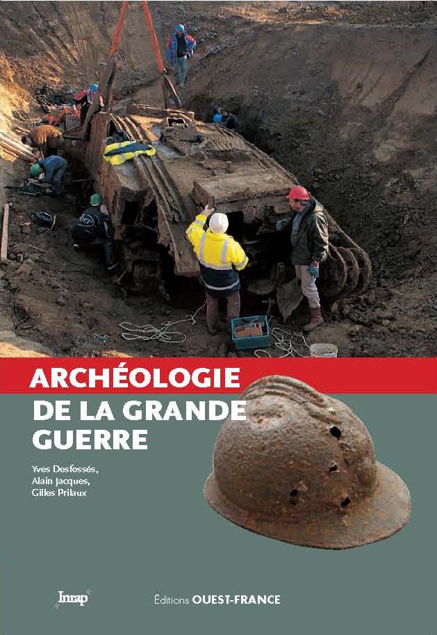 Couverture du livre L'archéologie de la Grande Guerre