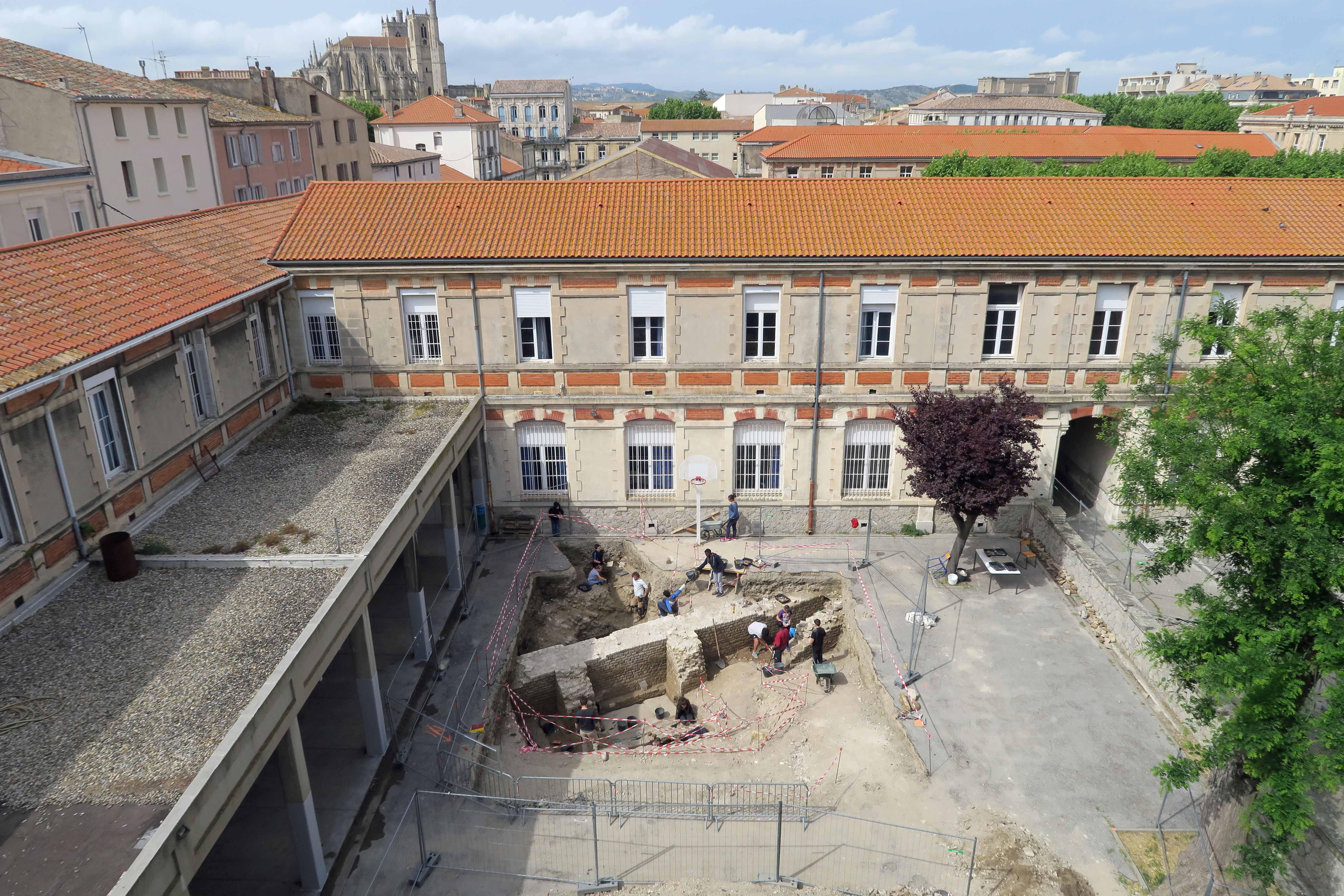 Conférence : La redécouverte du « capitole » de Narbonne   Inrap