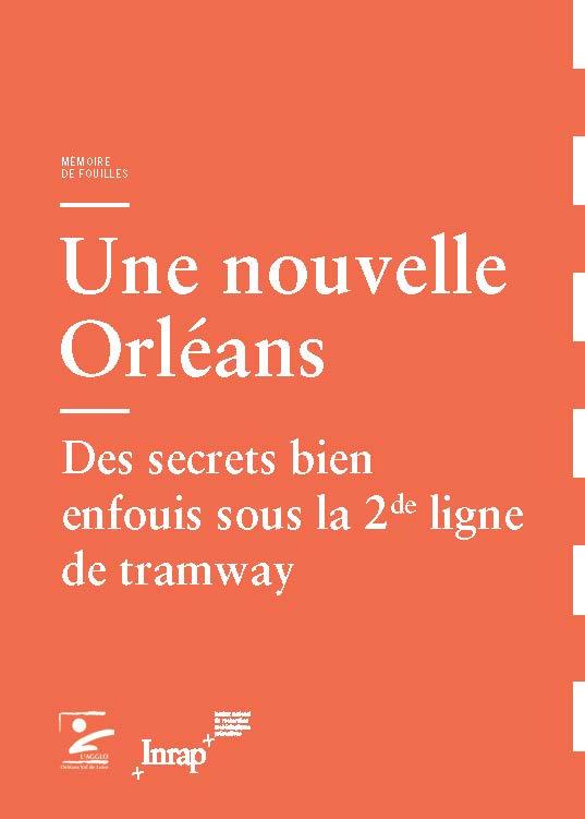 Mémoire de fouilles : Orléans (couverture)