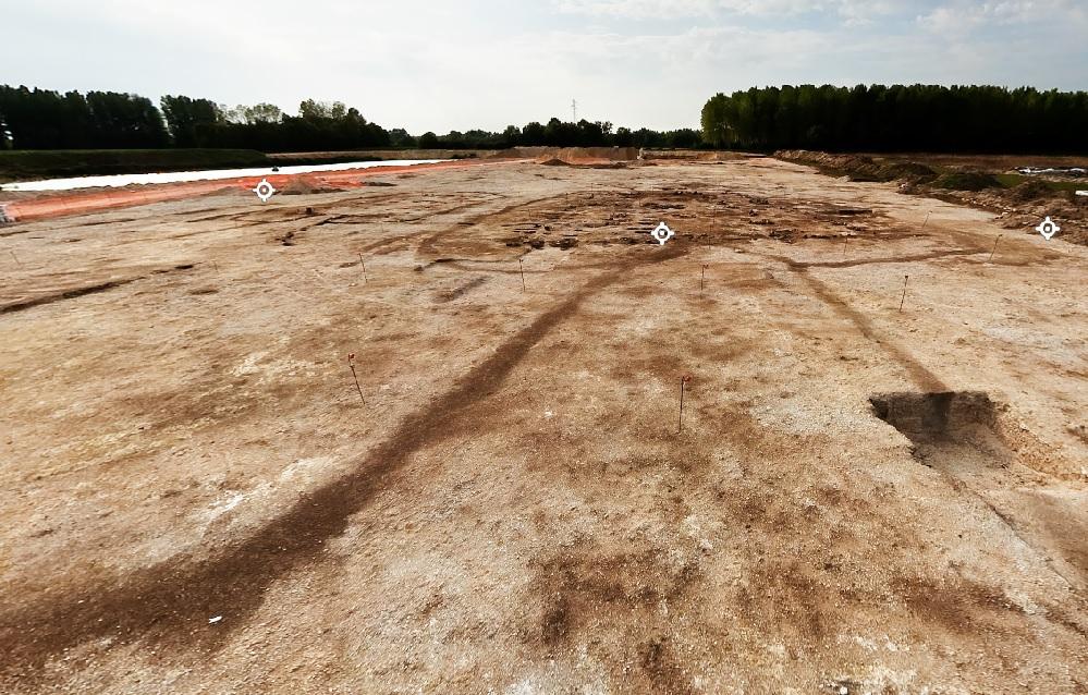 Vues 360° d'un village néolithique à Pont-sur-Seine (Aube)
