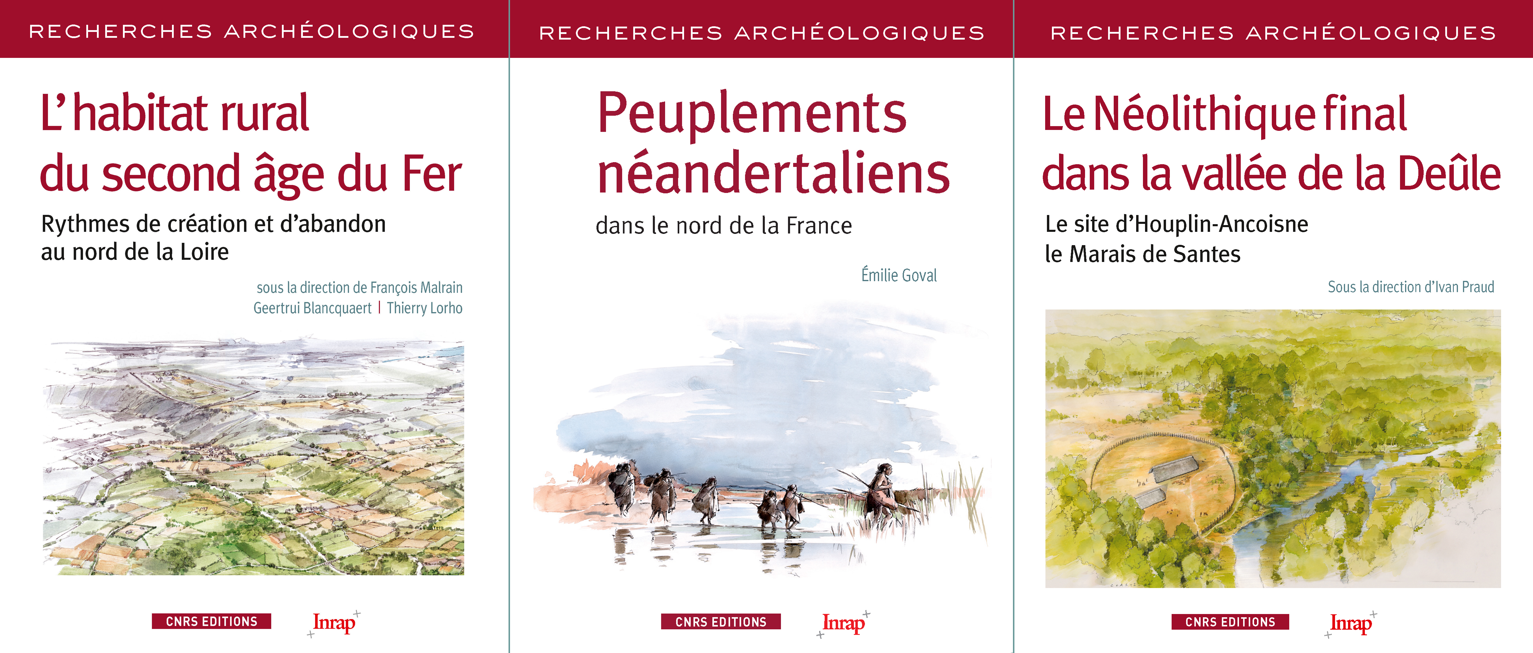 Couvertures Recherches Archéologiques