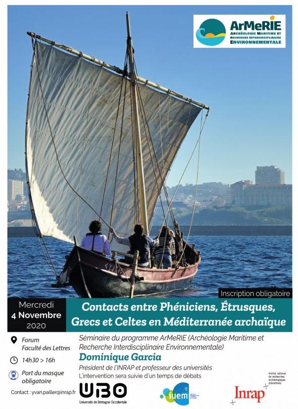 Conference Contacts Entre Pheniciens Etrusques Grecs Et Inrap