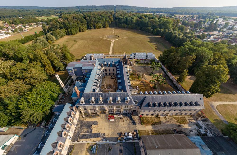 Vues 360° de la fouille du château de Villers-Cotterêts (Aisne)